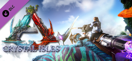 Crystal Isles ARK Expansion Map Free Download PC Game